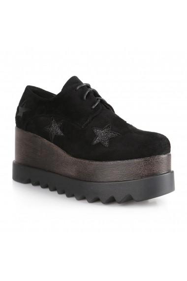 Pantofi Rammi RMM-220-black Negru