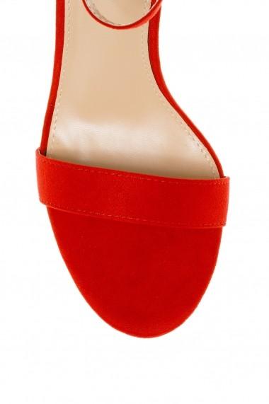 Sandale cu toc Rammi a1011red Rosii