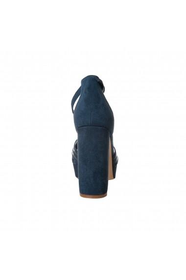 Sandale cu toc Rammi a3016blu Bleumarin