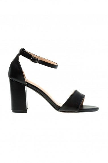 Sandale cu toc Rammi a1206nero Negre