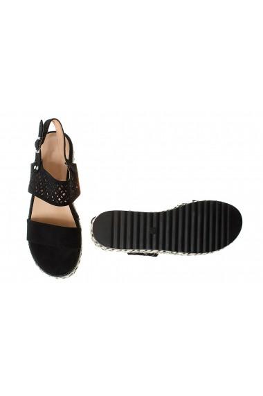 Sandale cu platforma Rammi a18-001nero Negre