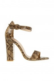 Sandale cu toc Rammi a3015 Animal Print