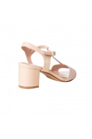 Sandale cu toc Rammi df3670nude Nude