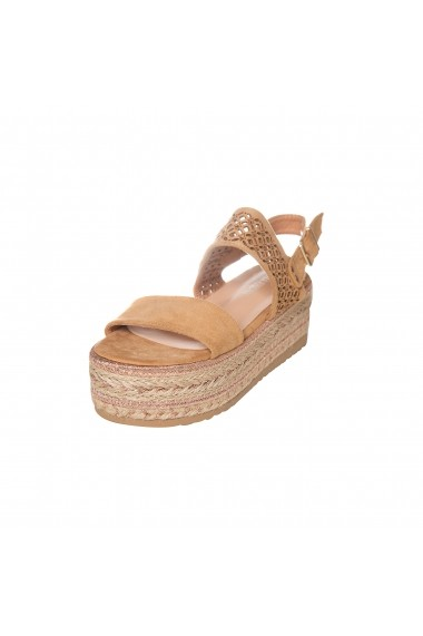 Sandale cu platforma Rammi a18-001camel Camel