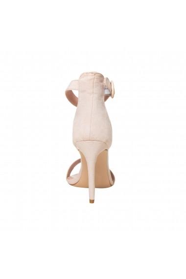 Sandale cu toc Rammi df3651nude Nude
