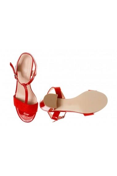 Sandale cu toc Rammi df3670.red. Rosii