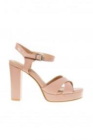 Sandale cu toc Rammi a1015 Roz