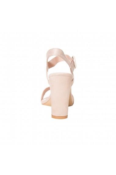 Sandale cu toc Rammi a1205 Nude
