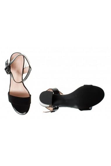 Sandale cu toc Rammi df3655nero Negre