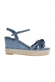 Sandale cu platforma Rammi a27001blu Bleu