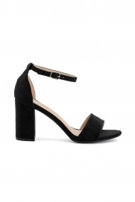 sandale Rammi negre cu barete finute
