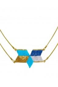 Colier BORRO design BRJWP0003 Albastru