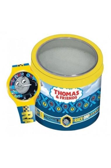 Ceas WALT DISNEY KID WATCH Mod. THOMAS THE TRAIN - Tin Box TWW-570421