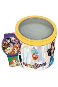 Ceas SUPER HERO GIRLS - Tin Box TWW-504919