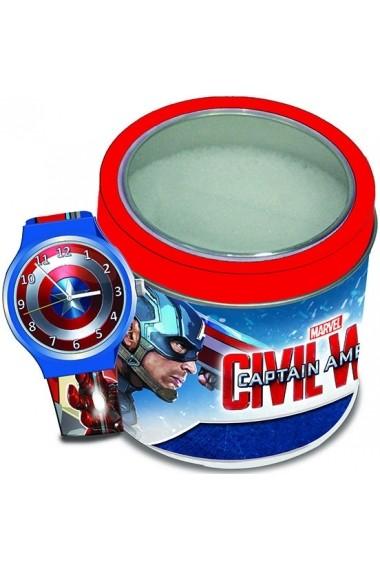 Ceas CAPTAIN AMERICA – Tin Box TWW-8003013