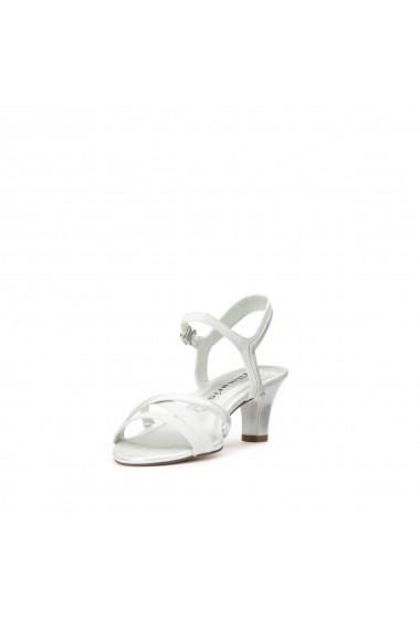 Sandale cu toc TAMARIS GHC427 alb