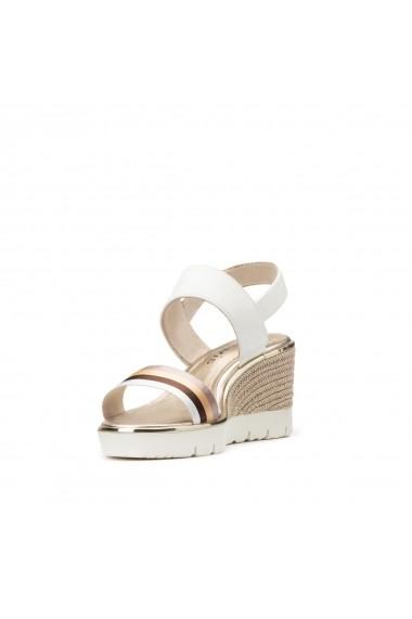 Sandale cu platforma TAMARIS GHC436 alb