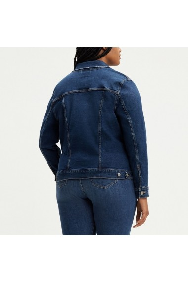 Jacheta din denim LEVI`S GGQ681 albastru