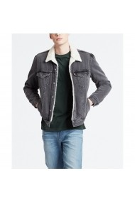Jacheta din denim LEVI`S GFB144 gri