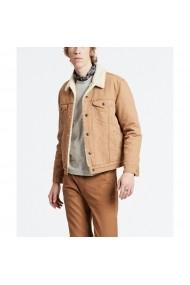 Jacheta din denim LEVI`S GGO629 bej