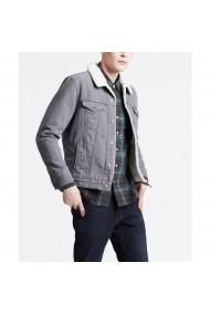 Jacheta din denim LEVI`S GGO629 gri