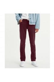 Pantaloni slim 511 LEVI`S GEA921 bordo