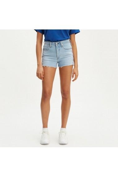 Pantaloni scurti din denim 501 LEVI`S GGJ502 bleu