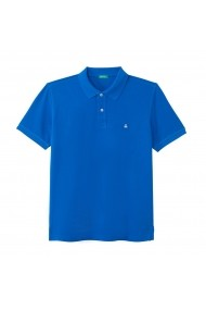 Tricou Polo BENETTON GGM123 albastru