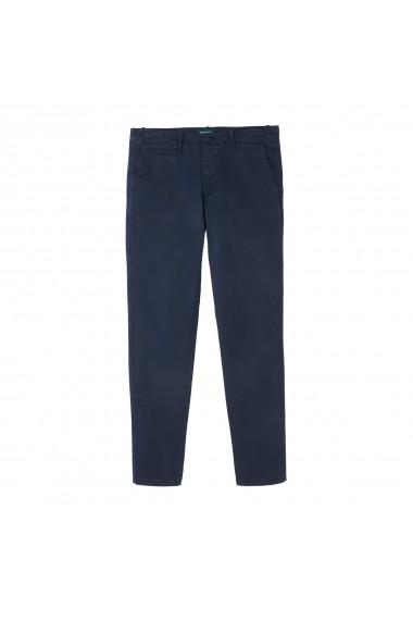 Pantaloni BENETTON GGL942 bleumarin