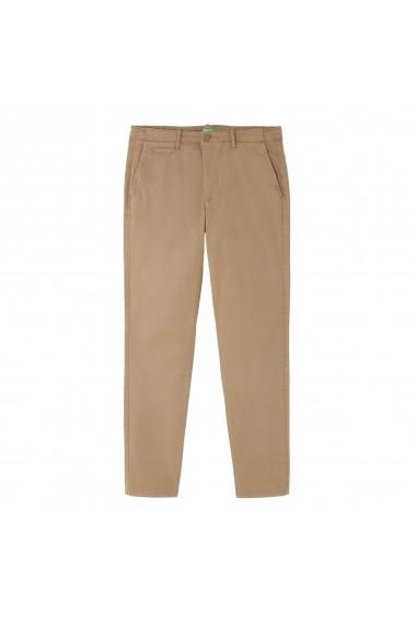 Pantaloni BENETTON GGL942 gri-bej