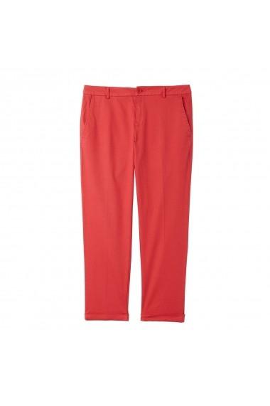 Pantaloni BENETTON GEU643 rosu