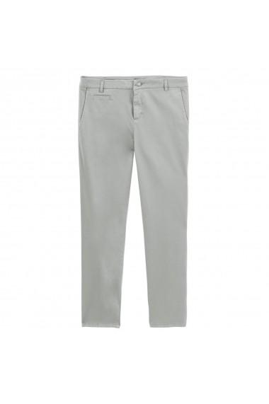 Pantalonii BENETTON GGD515 gri - els