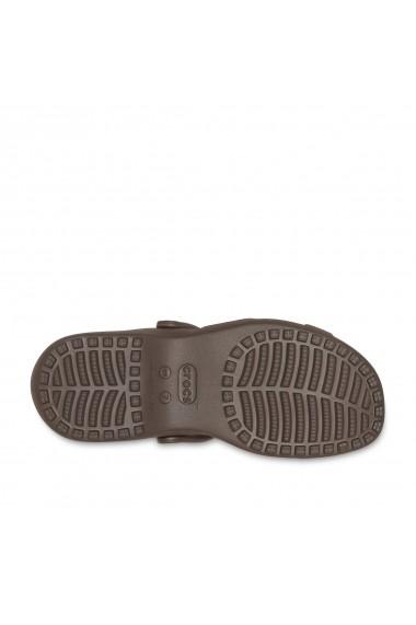 Papuci CROCS GHC897 maro