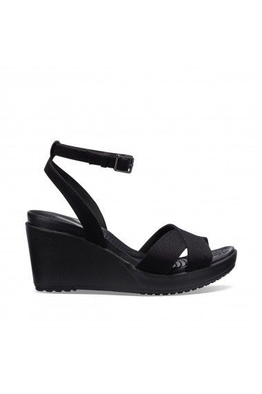 Sandale cu platforma CROCS GGJ957 negru
