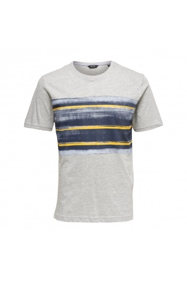 Tricou ONLY & SONS GFL387 gri