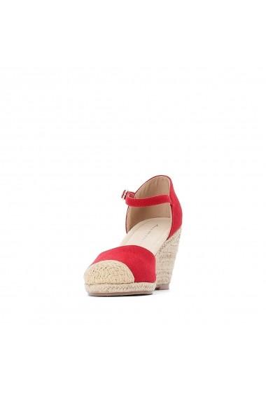 Sandale cu platforma ANNE WEYBURN GDZ150 rosu - els