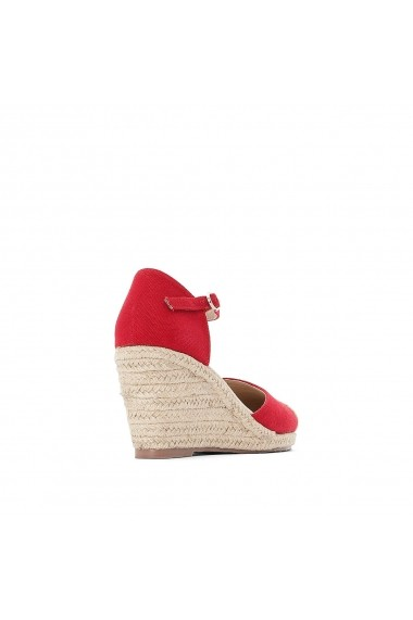 Sandale cu platforma ANNE WEYBURN GDZ150 rosu