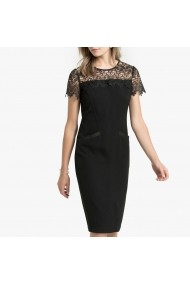 Вечерна рокля със средна дължина ANNE WEYBURN GGH407-6527 черн&