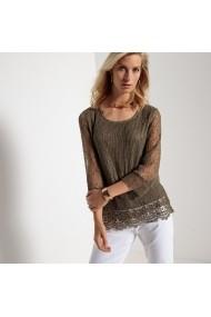 Пуловер ANNE WEYBURN LRD-GAF961-khaki каки