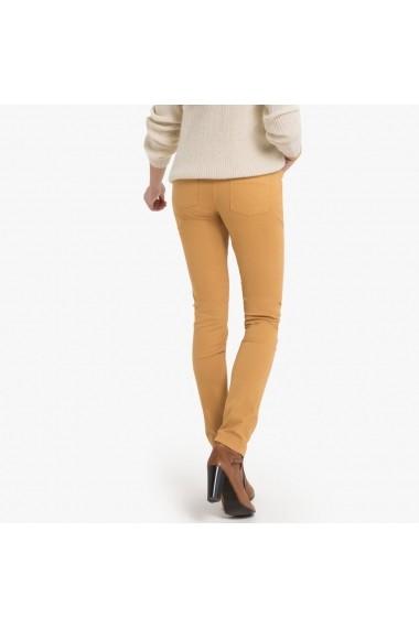 Pantaloni skinny ANNE WEYBURN GFJ828 ocru