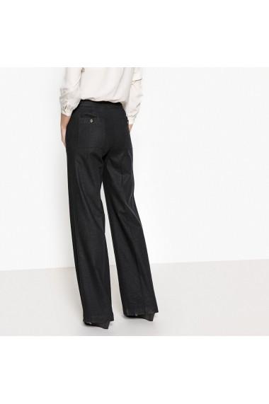 Pantaloni largi ANNE WEYBURN GER632 negru