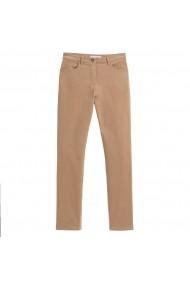 Pantaloni drepti ANNE WEYBURN GBA257 bej