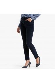 Pantaloni drepti ANNE WEYBURN GBA257 bleumarin