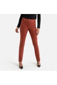 Pantaloni drepti ANNE WEYBURN GFT115 bordo