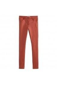 Pantaloni drepti ANNE WEYBURN GHV005 bordo