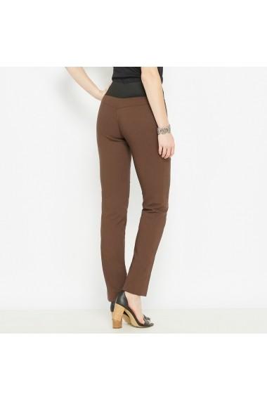 Pantaloni ANNE WEYBURN GCF001 maro - els