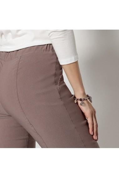Pantaloni ANNE WEYBURN GDC214 gri-bej - els