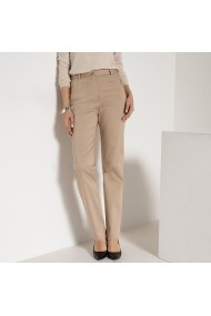 Pantaloni ANNE WEYBURN GDE519 bej - els