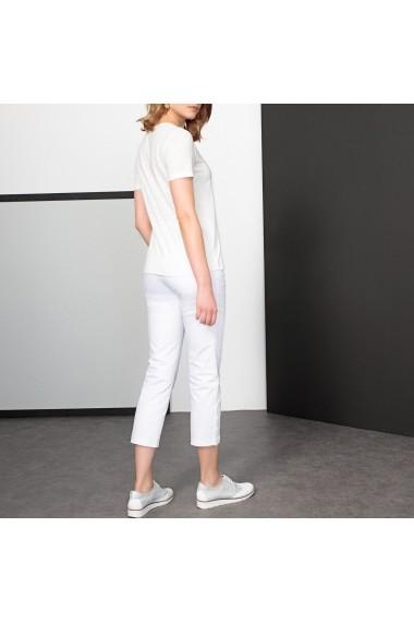 Pantaloni trei sferturi ANNE WEYBURN GDE524 alb - els