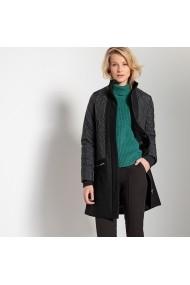 Palton ANNE WEYBURN GFE987 negru - els